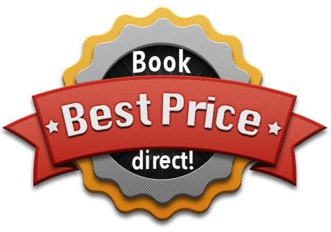 Book directly – Best Price Guarantee