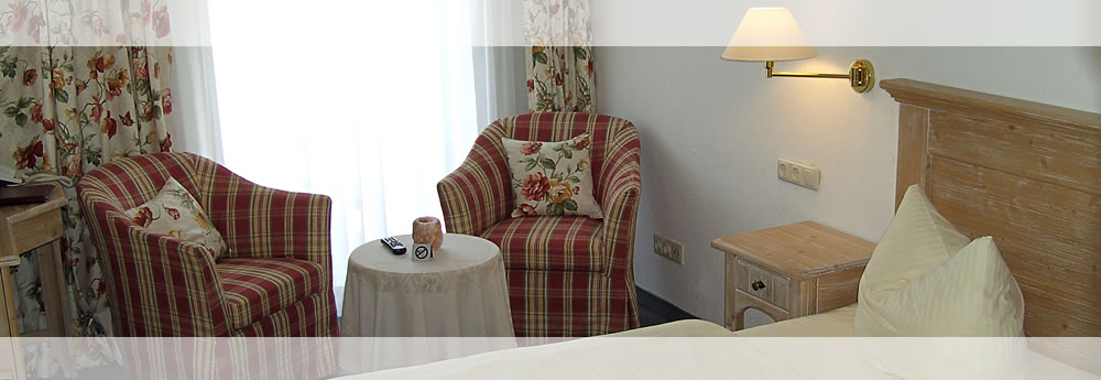 A look at one of our lovingly furnished rooms