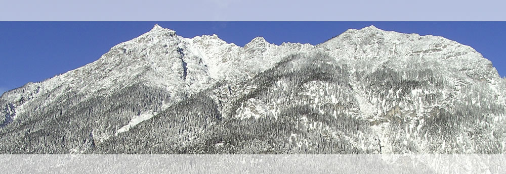 A look at the Werdenfelser mountains in Garmisch-Partenkirchen